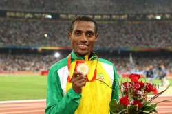 Kenenisa Bekele won his second gold medal at the Olympic Games. © www.photorun.net