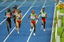 An exciting finish at the women's 10,000m final. © www.photorun.net