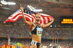 Shalane Flanagan was a surprise bronze medalist in the 10,000m. © www.photorun.net
