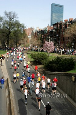 The Boston Marathon will take place on Monday, April 19. © www.PhotoRun.net