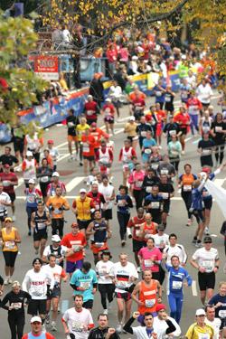 ... and the finish line of the New York Marathon. ©www.photorun.net