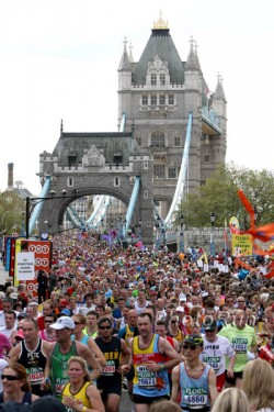 The London Marathon invites runners on Sunday, April 25. © www.PhotoRun.net