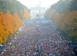Thousands of runners from around the world will participate in the Berlin Marathon on September 20. © www.PhotoRun.net