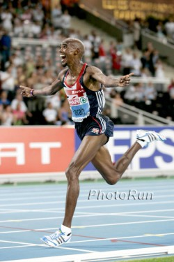 Mo Farah triumphed as double European champion in Barcelona. © www.photorun.net