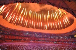 Opening ceremony of the 2008 Olympic Games.  ©www.PhotoRun.net