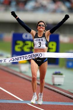 Mara Yamauchi triumphed in Osaka. ©www.photorun.net