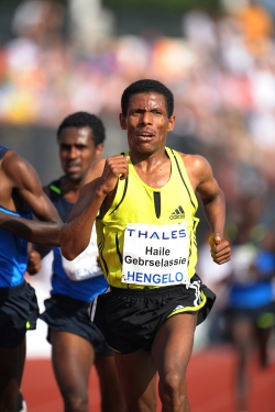 Haile Gebrselassie has opted to stick to the track in Beijing. © www.photorun.net