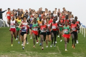 The field of the IAAF Cross Country Worldchampionships. © Victor Sailer