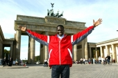 Paul Tergat in Berlin. © Victor Sailer