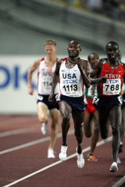 Bernard Lagat wins the 5,000m and completes an unprecedented double. © www.photorun.net