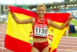 Marta Dominguez enjoyed a win at home in Toro, Spain.  © www.photorun.net