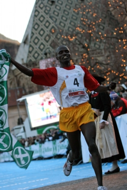 Edwin Cheruiyot Soi closed out the year with a win in Bolzano. © Courtesy of BOCLASSIC