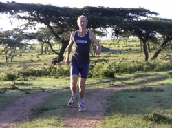 Nicky Martin in Kenya. © Courtesy of Nicky Martin.