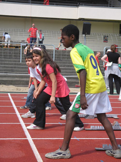 Young talents at the starting line. © Author