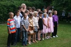 The Belarusian children during their summer holiday camp. ©Andreas-Norbert Schuchardt