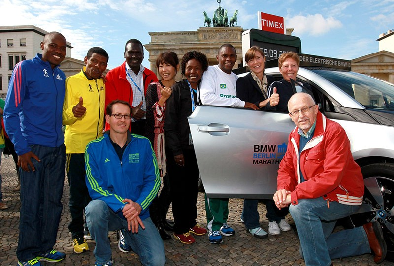 Wilson Kipsang Sets a New Marathon World Record in 2:03:23 in Berlin