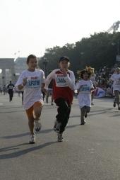 The Experience real, Mini-Marathon on Sunday in Berlin