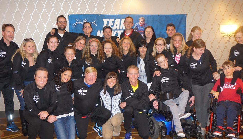 Team Hoyt Runners Honor Tradition of Courage in the 2019 Boston Marathon