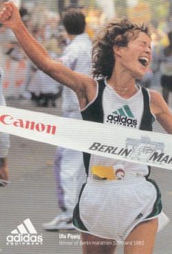 At the Berlin Marathon 1992… © Adidas