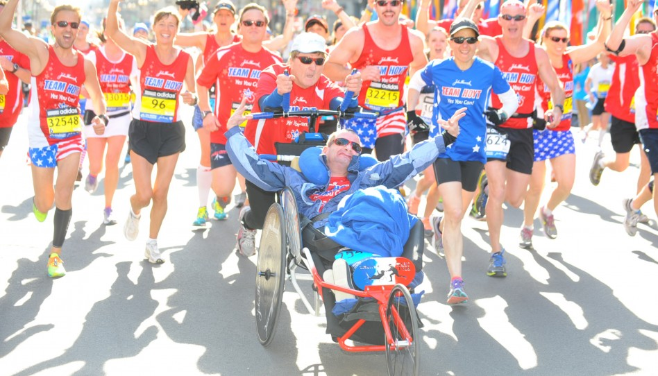 Dick and Rick Hoyt Complete Their Last Marathon Together—But Team Hoyt Will Go On