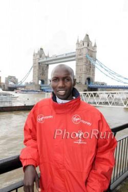 Two-time Frankfurt Marathon winner Wilson Kipsang is the new London Marathon champion. ©www.photorun.net