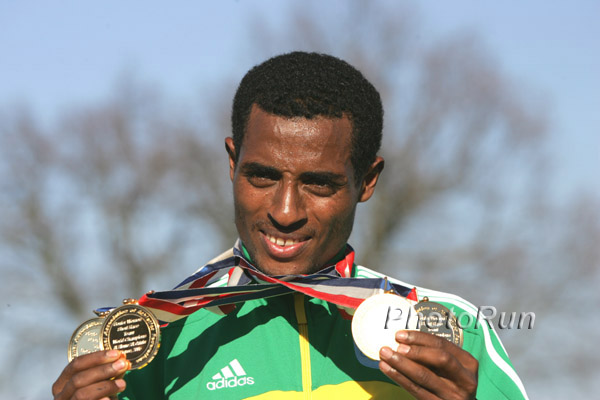 World Cross Country: Unbelievable Comeback by Kenenisa Bekele