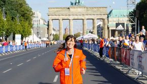 WELT—Uta Hopes to See You Out on The BMW Berlin Marathon Course