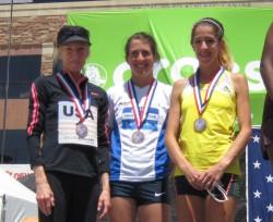 Team USA: Deena Kastor, Laura Thweat und Stephanie Rothstein. ©Uta Pippig