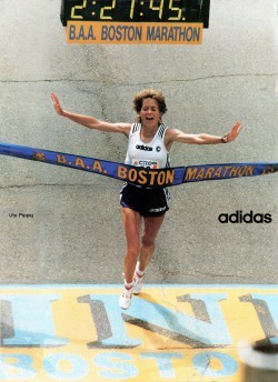 Boston Marathon @ ALLSPORT, April 18, 1994