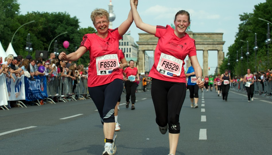Thousands of Women Runners and a Great Atmosphere in Berlin