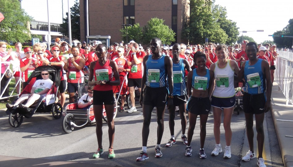 Allan Kiprono and Risper Gesabwa Win Warm Bellin Run