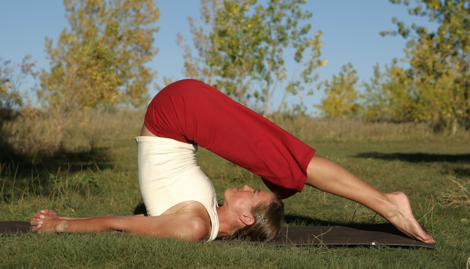 Uta's Insights: Yoga Pose of the Week — 14. Plow Pose