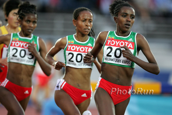World Champs (Day 8): Tirunesh Dibaba Runs to Historic Double
