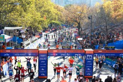 The subject of so many New York Marathon runners' dreams—Central Park, where the race finishes. ©www.PhotoRun.net