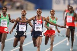 Mo Farah triumphed on Sunday. ©www.PhotoRun.net