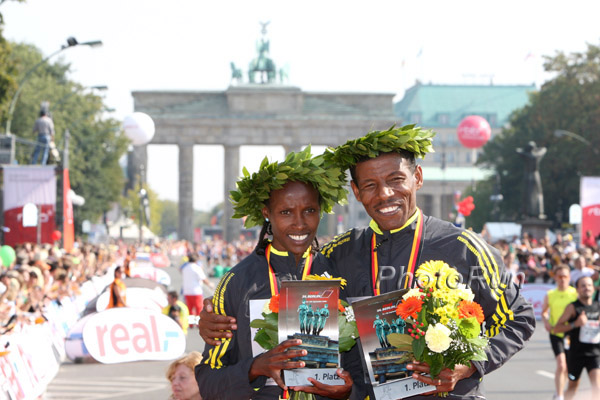 Haile Gebrselassie Wins the Berlin Marathon Title for Fourth Time