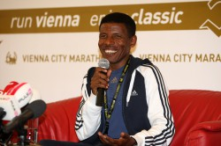 Haile Gebrselassie is hoping to use the Berlin Marathon to qualify for the Olympics. © www.photorun.net