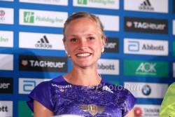 Anna Hahner placed 13th on Sunday. ©www.PhotoRun.net