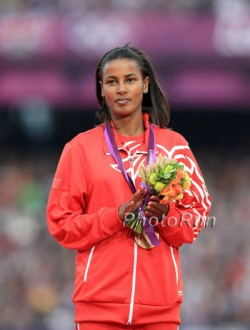 Maryam Jamal, seen here at the 2012 Olympic Games, enjoyed the festive atmosphere in Bolzano. © www.PhotoRun.net