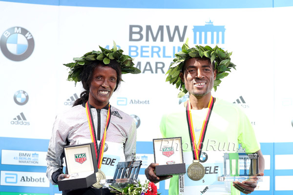 Kenenisa Bekele Wins in Berlin with the Second Fastest Marathon of All Time: 2:03:03
