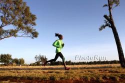 Mary Keitany training in Kenya. ©www.PhotoRun.net