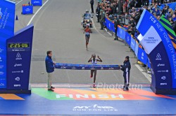 Mary Keitany won the women's race in New York. © www.PhotoRun.net