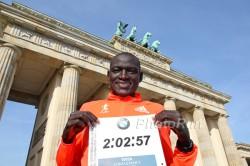 Dennis Kimetto ist der erste Läufer, der die Marathondistanz unter 2:03 Stunden absolvierte. ©www.PhotoRun.net