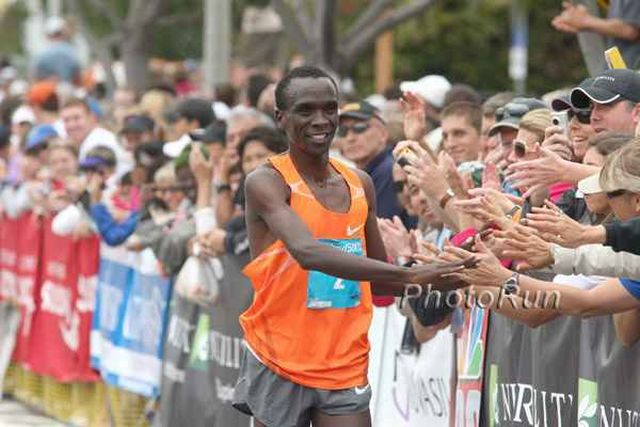 Eliud Kipchoge and Linet Masai Win in Edinburgh