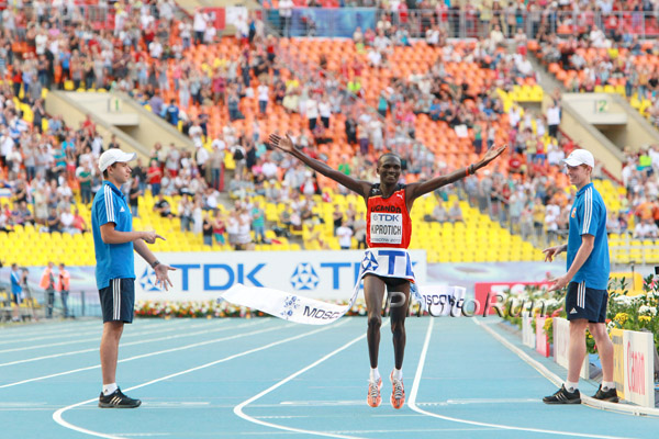 WCh Results: Olympic Champion Stephen Kiprotich Wins Marathon Gold