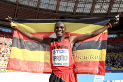 Stephen Kiprotich was crowned world champion in Moscow. © www.PhotoRun.net