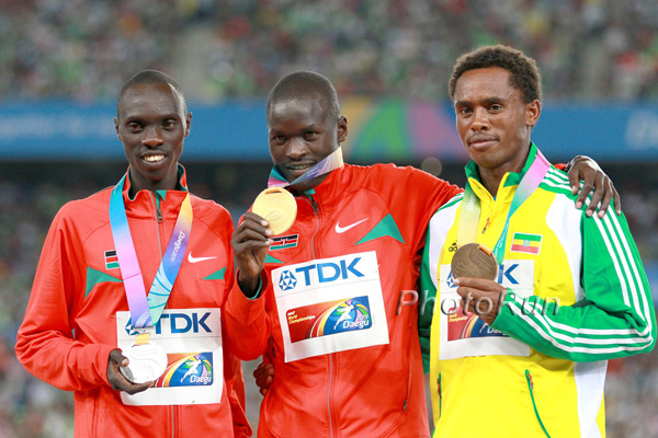 WCh-Results: Abel Kirui Retains His Marathon Title