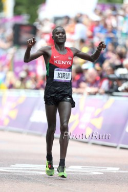 Abel Kirui wins Silver in London. © www.PhotoRun.net