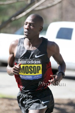 Moses Mosop plans to chase the world record in Chicago. © www.photorun.net