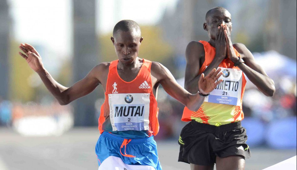 Geoffrey Mutai Runs This Year's Fastest Marathon in Berlin